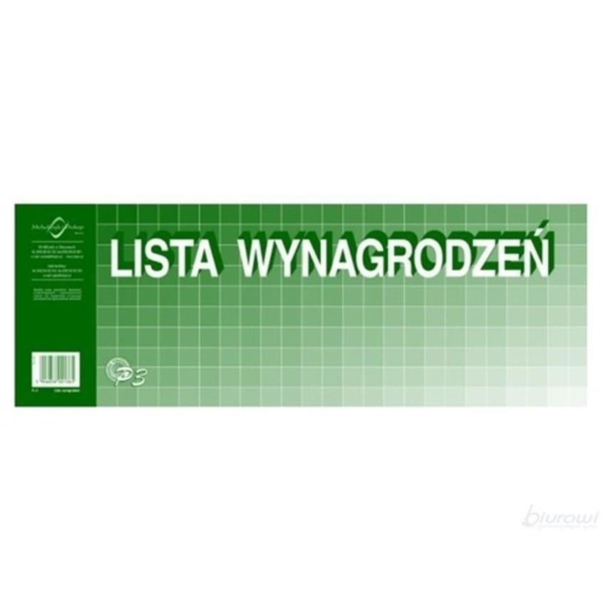 LISTA WYNAGRODZEŃ P3