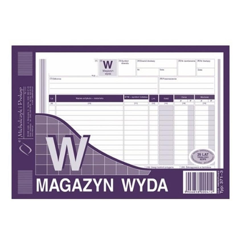 W - MAGAZYN WYDA 371-3