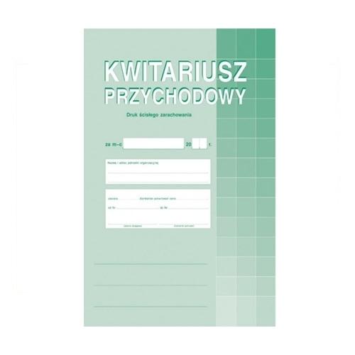 KWITARIUSZ PRZYCHODOWY (NUMEROWANY) 400-1