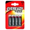 BATERIE EVEREADY SUPER HEAVY DUTY AA R6