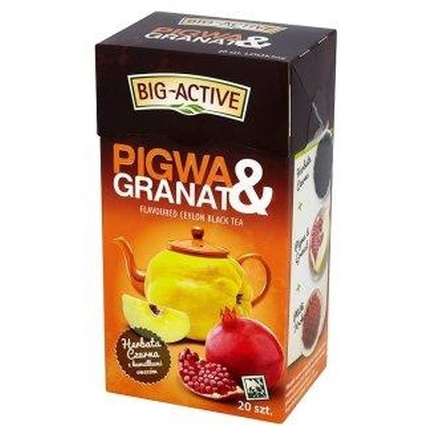 HERBATA CZARNA OWOCOWA BIG-ACTIVE
