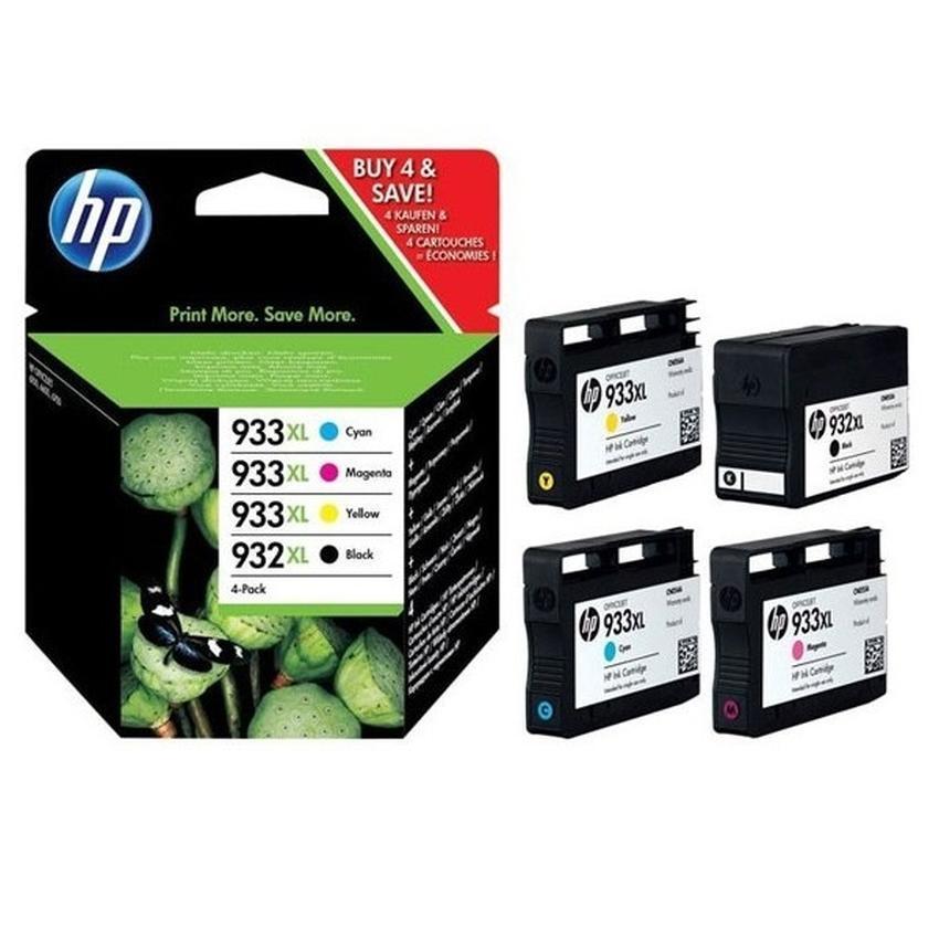 Tusz HP 933XL/932XL czteropak [C2P42AE]