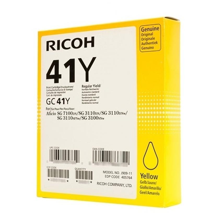 Żel Ricoh GC 41Y [405764]