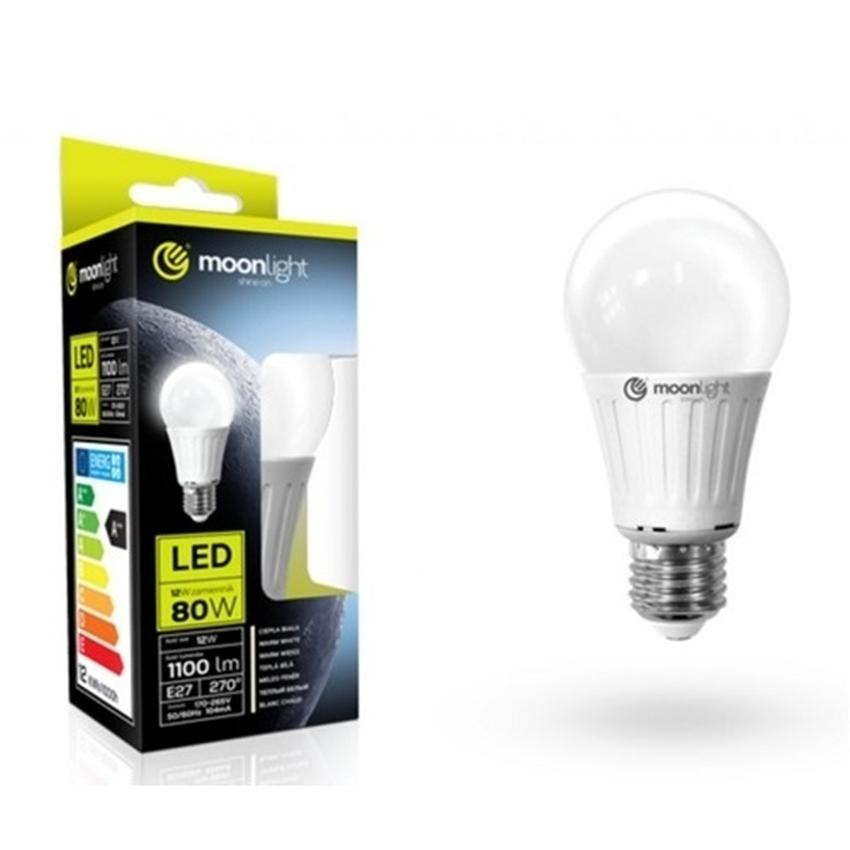 ŻARÓWKA LED MOONLIGHT E27 12W