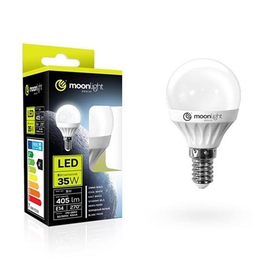 ŻARÓWKA LED MOONLIGHT E14 5W