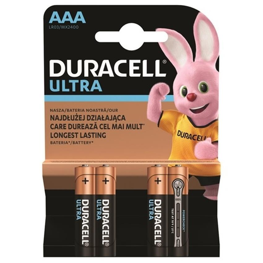 BATERIE ALKALICZNE DURACELL LR03 AAA MN2400 K4 TURBO MAX
