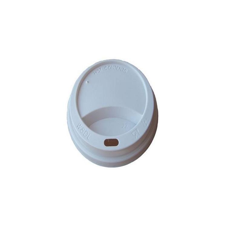 Pokrywka biała 70 mm do kubka 180 ml
