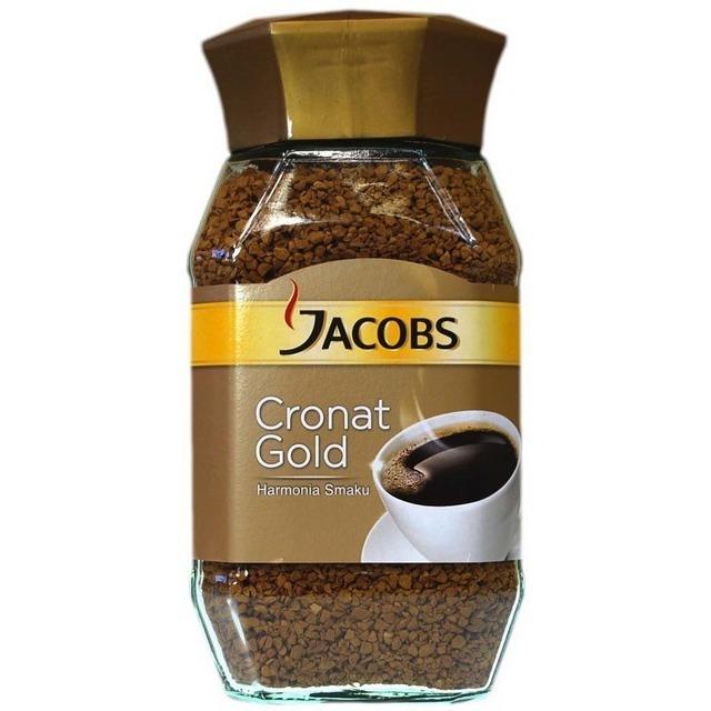 KAWA ROZPUSZCZALNA JACOBS CRONAT GOLD