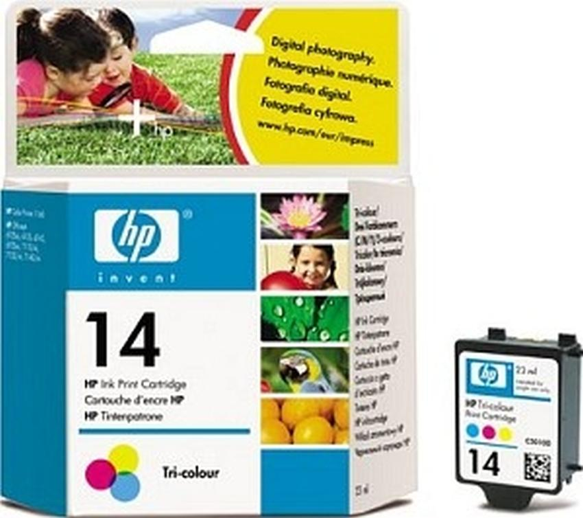 Tusz HP nr 14  [C5010DE >C5010A]