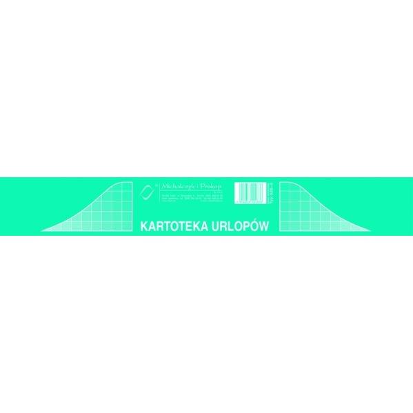 KARTOTEKA URLOPÓW 525-3