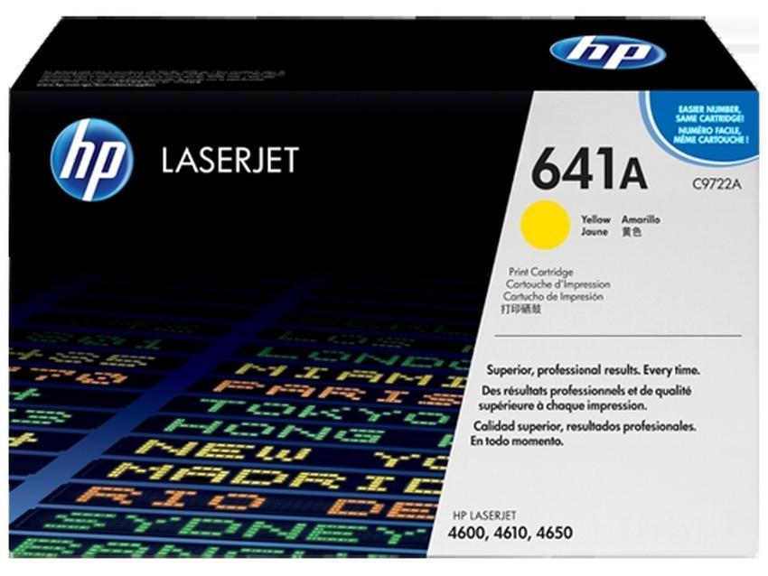 Toner HP 641A [C9722A]