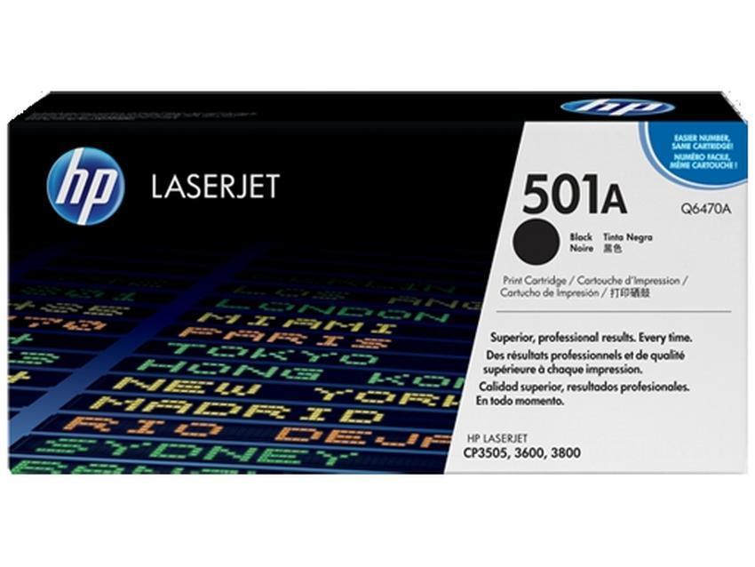 Toner HP 501A [Q6470A]