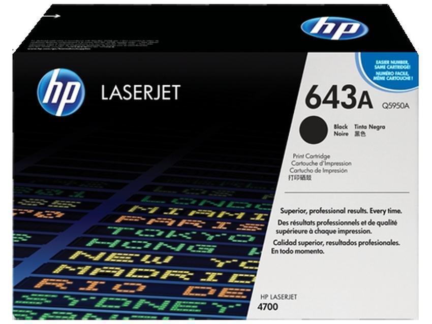 Toner HP 643A [Q5950A]
