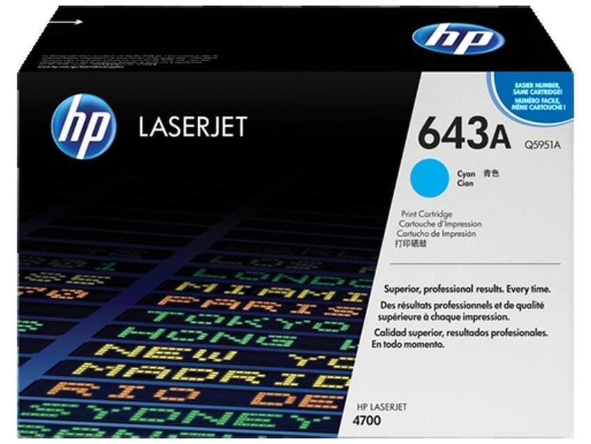 Toner HP 643A [Q5951A]