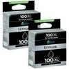 Zestaw 2 tuszy Lexmark 100 XL [14N0848]