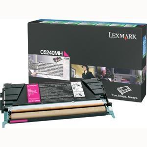 Toner Lexmark C5240MH