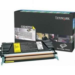 Toner Lexmark C5240YH